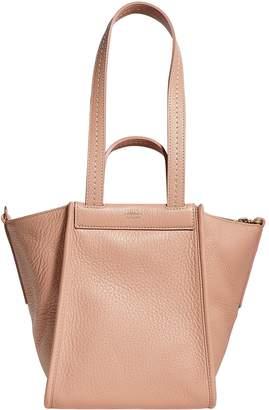 Max Mara Double Handle Leather Bag