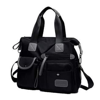 Duoler Shoulder Bag Waterproof Oxford Women Handbags Big Capacity Women Ladies Hand Bags Multiple Pocket