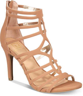 Material Girl Pixie Caged Sandals, Created for Macy's Women's Shoes
