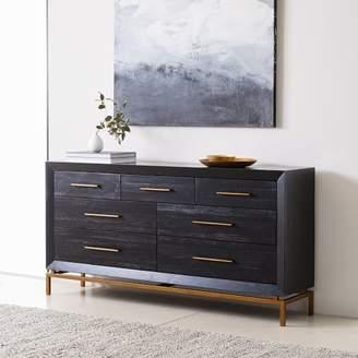 west elm Alexa 7-Drawer Dresser - Black