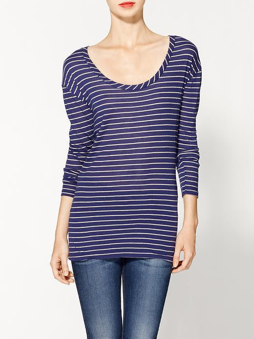 Jordana Threads for Thought Stripe Knit Top