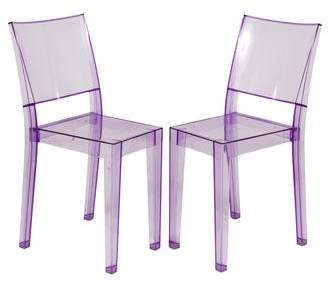 Kartell Pair of La Marie Dining Chairs