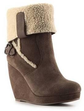 Zigi Cocoa Wedge Boot