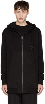 Damir Doma Black Always for Love Wayan Zip Hoodie