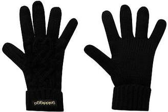 Golddigga Womens Cable Glv Knitted Gloves
