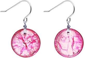 Lola Rose Geotopia Disc Violet Rock Crystal Earrings