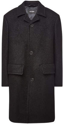 Raf Simons Coat with Virgin Wool and Mohair