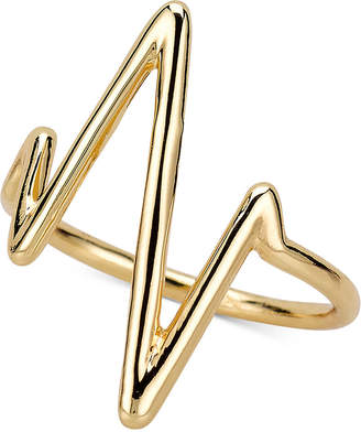 Sarah Chloe Sarah Chole Heartbeat Ring in 14k Gold