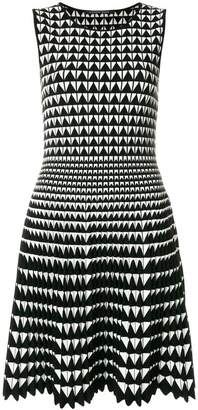 Valenti Antonino geometric pattern dress