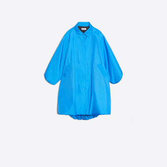 Balenciaga Nylon Cover Coat
