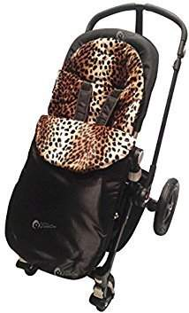 Bugaboo Animal Print Padded Footmuff/Cosy Toes Compatible with Bee/Donkey/Cameleon Leopard