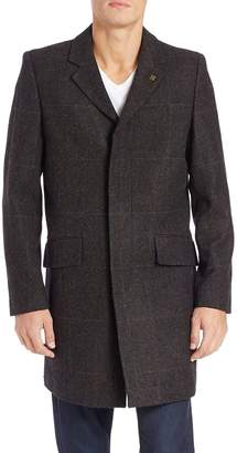 Vince Camuto Men's Mid-Length Wool Jacket