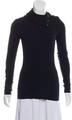 Diane von Furstenberg Long Sleeve Turtleneck Top