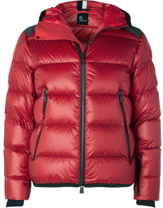 Moncler Hintertux Quilted Hooded Down Ski Jacket