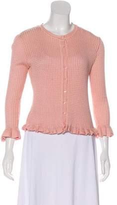 Chloé Lightweight Long Sleeve Cardigan