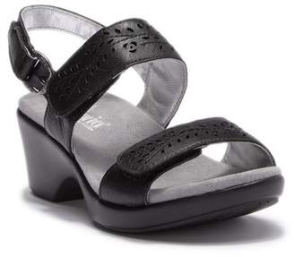 Alegria by PG Lite Burnish Wedge Heel Sandal