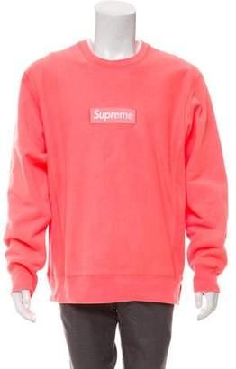 Supreme 2018 Box Logo Crew Neck Sweater