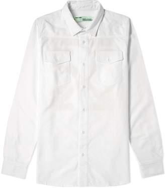 Off-White Off White Firetape Shirt