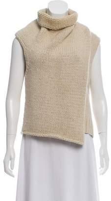Celine Sleeveless Turtleneck Sweater