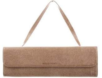 Brunello Cucinelli Textured Leather Clutch