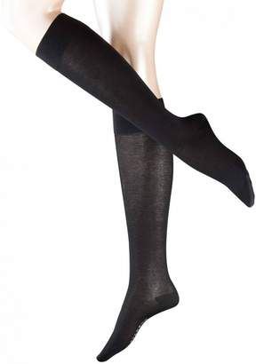 Falke Womens Cotton Touch Knee High Socks - Small