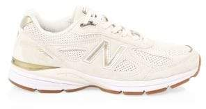 New Balance 990 Suede& Mesh Sneakers