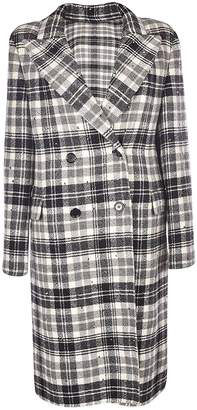 Ermanno Scervino Checked Coat