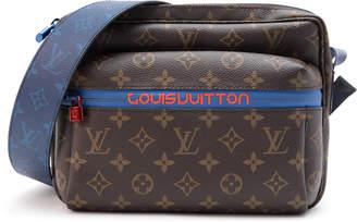 Louis Vuitton Messenger Monogram Outdoor PM Brown Blue