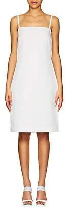 Prada Women's Tech-Twill Slipdress - White