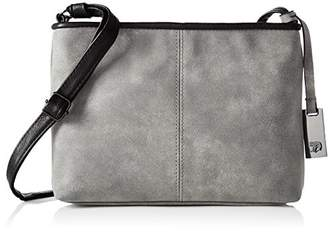 Tom Tailor Mila, Women's Shoulder Bag, Grau, 4 x 16 24 cm (wxhxd)