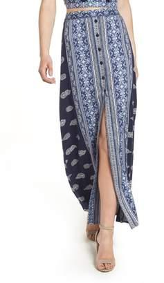 Band of Gypsies Bandana Print Skirt
