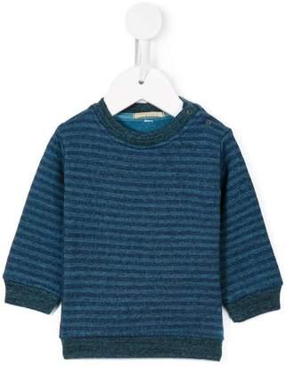 Gold Belgium striped sweatshirt