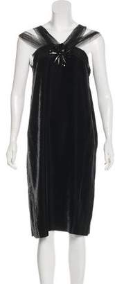 Lanvin Velvet Midi Dress