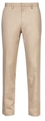 Burton Mens Taupe Slim Fit Stretch Trousers