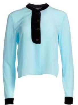 Emporio Armani Silk Crepe Shirt