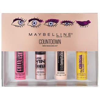 Maybelline Mini Mascara Holiday Kit Black