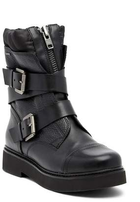Geox Rayssa Waterproof Leather Moto Boot