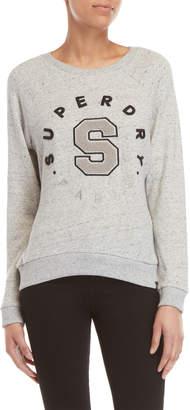 Superdry Embossed Logo Raglan Sweatshirt
