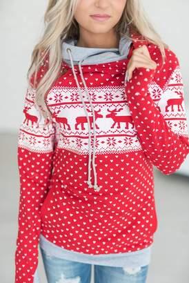 Ampersand Avenue DoubleHood Sweatshirt - Reindeer Games