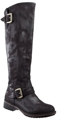 Womens Mossimo Supply Co. Kalyssa Flat Boot w/ Zipper - Black