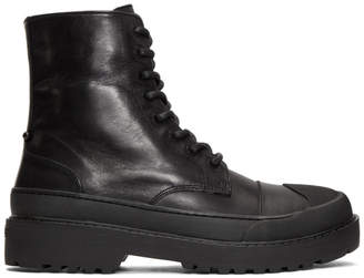 Neil Barrett Black Tark High Military Boot