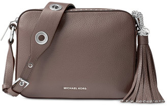 MICHAEL Michael Kors Brooklyn Large Camera Bag $398 thestylecure.com
