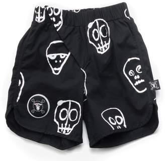 Nununu Baby Boy's Skull Mask Surf Shorts