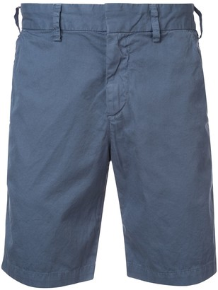SAVE KHAKI UNITED knee-length fitted shorts