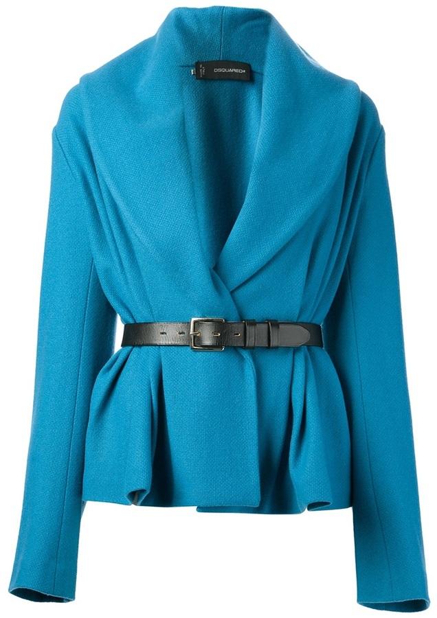 DSquared DSQUARED2 belted jacket
