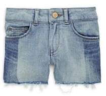 Little Girl's Lucy Denim Shorts