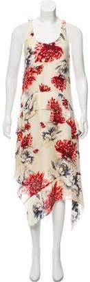 Haute Hippie Silk Print Dress