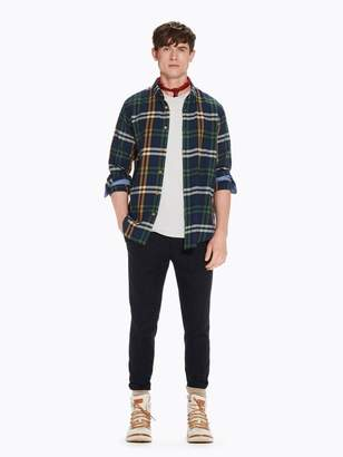 Scotch & Soda Checked Flannel Shirt Regular fit