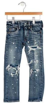 Go To Hollywood Boys' Distressed Jeans