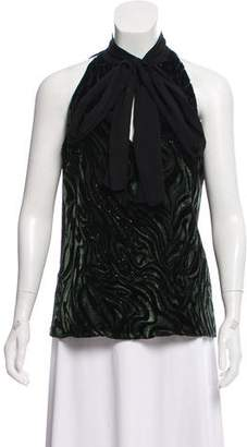 Prabal Gurung Sleeveless Silk Blouse